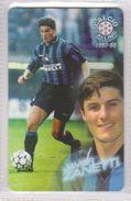 Calcio 1997/98 - ATW - Inter - Javier Zanetti - Schede GSM, Prepagate & Ricariche