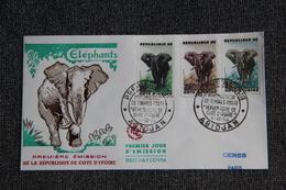 FDC  - 1er Jour D'Emission - 1er Emission De Timbre Poste De La COTE D'IVOIRE - Côte D'Ivoire (1960-...)