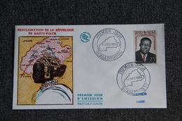 FDC  - 1er Jour D'Emission - Proclamation De La République De HAUTE VOLGA - Haute-Volta (1958-1984)