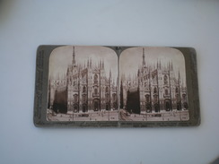 Milan S Cathedral Italy - Stereoscopes - Side-by-side Viewers