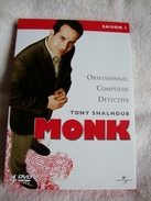 Dvd Zone 2 Monk - Saison 1 (2002) Vf+Vostfr - TV-Reeksen En Programma's