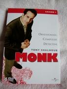 Dvd Zone 2 Monk - Saison 1 (2002) Vf+Vostfr - Séries Et Programmes TV