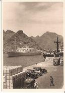 TENERIFE Comp. Maritime Belge  Arrivée D'un Paquebot Vellel  Avec Automobiles- Gevaert  Photo Anvers 6/217/d4 - Tenerife