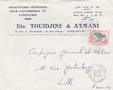 Lettre Tunisie. - Tunisie (1956-...)