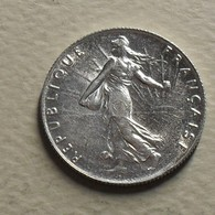 1913 - France - 50 CENTIMES, Semeuse, Argent, Silver, KM 854, Gad 420 - Frankrijk
