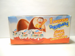 KINDER Box 3 Eggs Doreamon - Zonder Classificatie