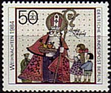 ALLEMAGNE  BERLIN    N° 690  * *    Noel St Nicolas - Noël