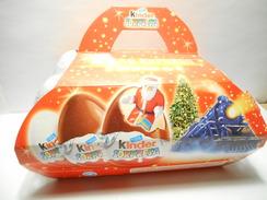 KINDER Box 6 Eggs Polar Expess - Zonder Classificatie