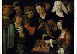 Schach Chess Ajedrez échecs - AK - Schachpartie Um 1508 - Schach