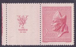 CSSR M: 515** With Coupon, Year 1945 - Tchécoslovaquie