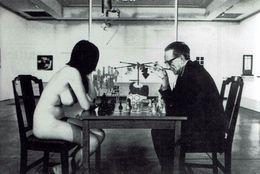 Schach Chess Ajedrez échecs - Foto - Eve Babitz & Marcel Duchamp - Repro's