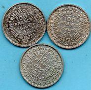 C35/  MAROC / MOROCCO  100 Francs  1953  Silver  French Protectorate 1 Coin - Maroc