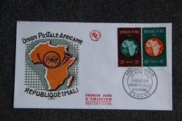 FDC  - 1er Jour D'Emission - République Du MALI, Union Postale Africaine - Mali (1959-...)