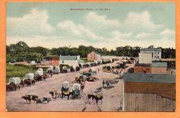 Manhattan KS 1905 Postcard - Manhattan