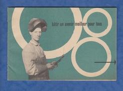 Livret Ancien De 1950 , Programme De Relèvement Européen - Photos & Textes - Plan Marshall Economie Industrie - Handel