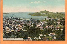 Saint Lucia BWI 1910 Postcard - Saint Lucia