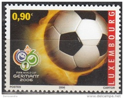 Luxembourg 2006 Michel 1713 Neuf ** Cote (2008) 1.80 Euro Coupe Du Monde De Foot En Allemagne - Ongebruikt