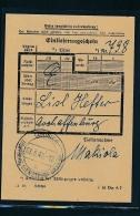 Quittung Dienstpost Ukraine  -netter  Beleg  ... ( G6366  ) Siehe Scan - Alemania
