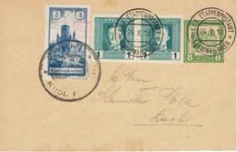 ZARKI Poste Locale Entier Postal Autrichien Non écrit 24 Octobre 1918 Michel N° 4 - Rare - ....-1919 Übergangsregierung