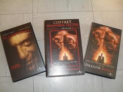 """Coffret 2 Vidéo Cassettes K7 """"hannibal Lecter"""" - Crime"""