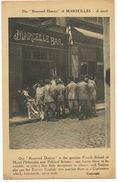 Quartier Reservé De Marseille Marcelle Bar Bordel Prostitution Humour Britannique Prostitutes WWI - Non Classés