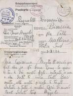 CARTOLINA POW CAMP STALAG XIII-D NURNBERG GERMANIA 1944 X BISACCIA - Military Mail (PM)