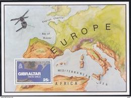 Gibraltar, 1978, 372 Block 5, Gibraltar Von Oben. MNH **, - Gibilterra