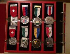 Album 32x Distinction - TIR DES ARMOIRIES - SVC - SSV - SSC - EFS - TFC * 1968 - 1973 - Jetons & Médailles