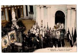 14 - LISIEUX . UN JOUR DE PROCESSION . Entrée De La Châsse Au Carmel - Réf. N°3861 - - Lisieux
