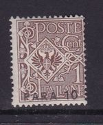 Italy-Italian Offices Abroad-European And Asia Offices-Constantinople S33 1921  10 Para On 1c Brown MH - 11. Foreign Offices
