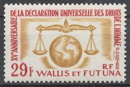 Wallis And Futuna 203** UNIVERSAL DECLARATION OF HUMAN RIGHTS, 15th ANNIV. - Wallis Und Futuna
