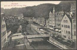 Karlsbad, Blick Nach Der Alten Und Neuen Wiese. Karte Aus 1905, Ungebraucht. - República Checa