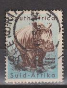 South Africa Zuid Afrika Used ; Neushoorn, Rhino, Rinoceronte 1996 WWF NOW MANY STAMPS OF ANIMALS - Rhinozerosse