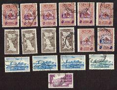 43x Stamps - GRAND LIBAN - Republique Libanaise - LIBAN - Poste Ariene - Liban