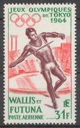 Wallis And Futuna 205(*) JAVELIN THROWER, OLYMPIC GAMES TOKYO 64 - Wallis Und Futuna
