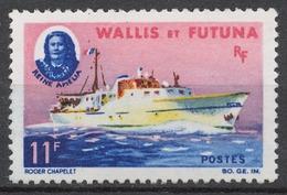 "Wallis And Futuna 206(*) DEFINITIVE, SHIP ""QUEEN AMELIA"" - Wallis Und Futuna"