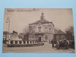 Gemeentehuis En Gedenkteeken ( Loosvelt - Adeline ) Anno 1935 ( Details Zie Foto´s ) !! - Leopoldsburg
