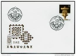 Schaken Schach Chess Ajedrez échecs - Brussel 18-3-1995 (NL-Fr) - Belgie Belgien Belgium - Echecs