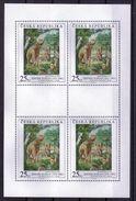 Tschechien Klb. 'Deinotherium' / Czech Rep. M/s 'Deinotherium' **/MNH 2005 - Postzegels