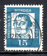 ALLEMAGNE. N°224 De 1961 Oblitéré. Martin Luther. - Theologians