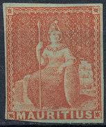 Stamp MAURITIUS 1858 Mint Lot#12 - Mauritius (...-1967)