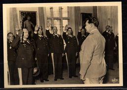 B394# Alte AK Ansichtskarte Propaganda WKII - Foto - Beim Reichsmarschall - Guerre 1939-45