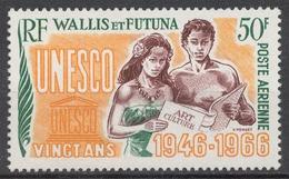 Wallis And Futuna 213(*) UNESCO, 20th ANNIV. - Wallis Und Futuna