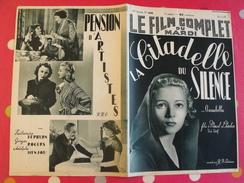 """Revue """"le Film Complet"""" N° 2048 De 1937. La Citadelle Du Silence. Annabella Pierre Renoir Marcel L'herbier + Hepburn - Cinéma/Télévision"""