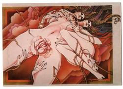 """ILLUSTRATEUR . """" FLEURS """" PAR SATO YAMAMOTO . ÉDITION NUGERON - Réf. N°3871 - - Illustrateurs & Photographes"""