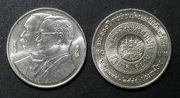 Thailand Coin 20 Baht 2002 100th Thai Banknote Y386 UNC - Thailand