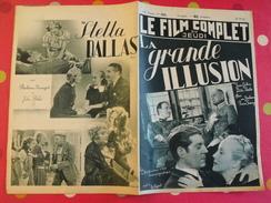 "Revue ""le Film Complet"" N° 2022 De 1937. La Grande Illusion. Renoir Gabin Dita Parlo Eric Von Stroheim Pierre Fresnay - Kino/Fernsehen"