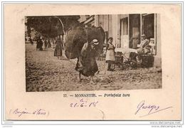MONASTIR ..-- SERBIE ..-- MILITARIA ..-- Portefaix Turc . 1918 Voir Texte Militaire Vers France . - Serbie
