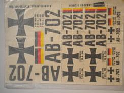 LOT ACMMm4 DECALCO LUFWAFFE 1/35 - Luchtvaart