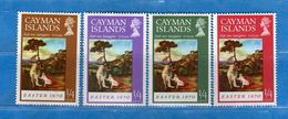 CAYMAN ISLAND - 1970 **- PASQUA. Yvert 253 à 256. MNH.  NUOVI  Vedi Descrizione. - Cayman (Isole)